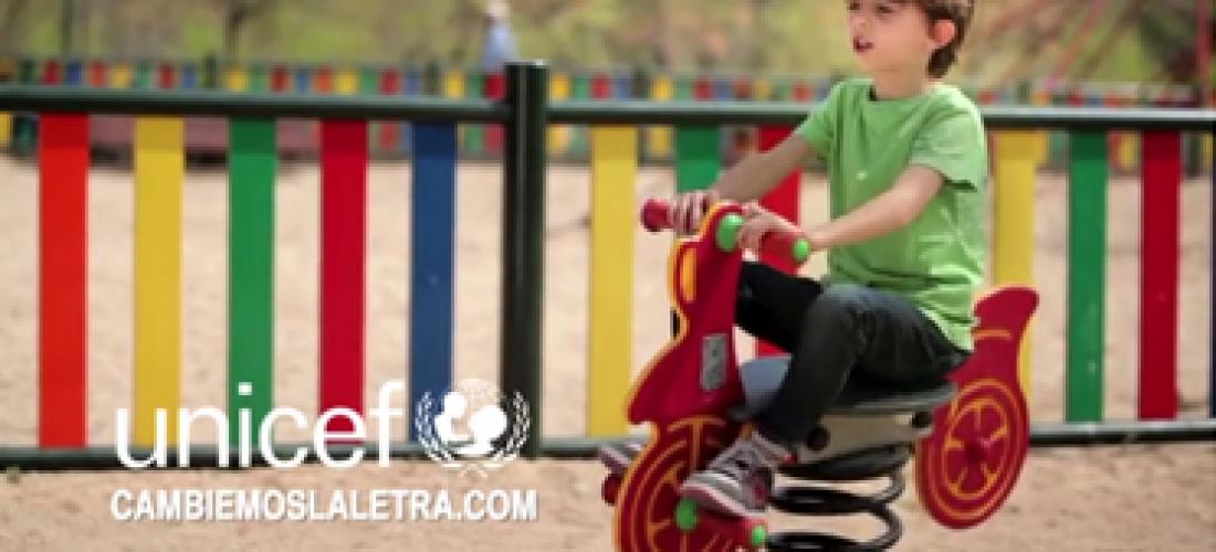 UNICEF ESPAÑA. ¿Cavar un jueves? cambiemoslaletra.com